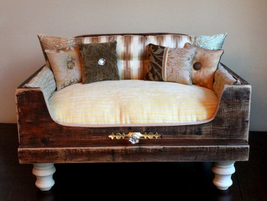 Exclusive for Betsy Antique Dog Bed by designercraftgirl on Etsy, $1600.00
