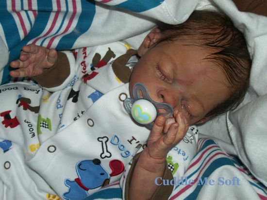 Realistic Newborn Reborn Baby Boy or Girl - Custom Order- Micro Rooted hair. OOAK Baby Reborn doll via Etsy