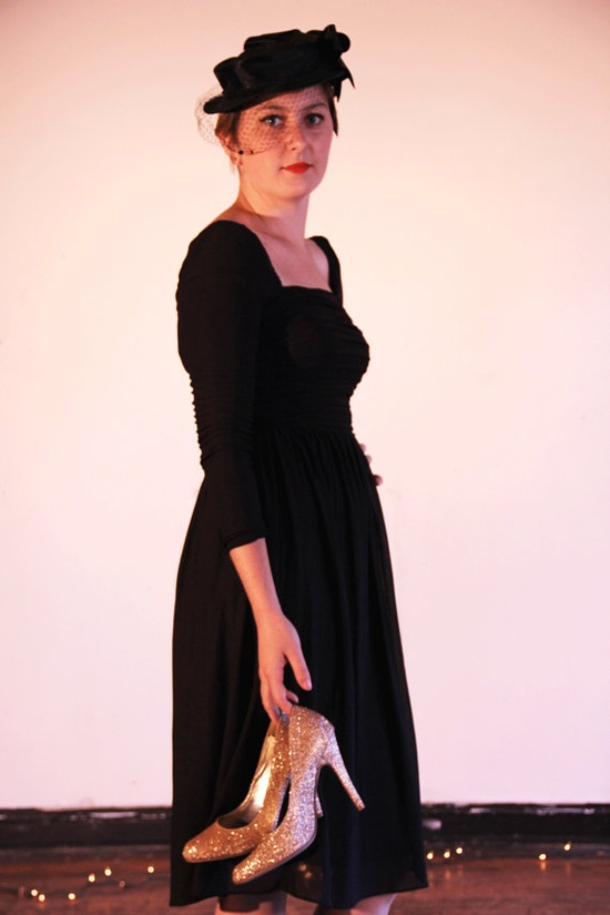 bandage style #vintage party dress#