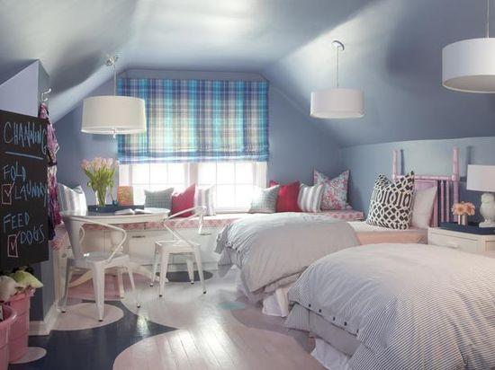 SHAPELY ATTIC BEDROOM