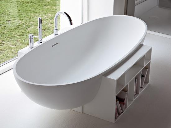 Bookshelf bath tub / Rexa Design