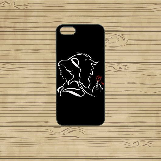 iphone 5C case,iphone 5S case,iphone 5S cases,iphone 5C cover,cute iphone 5S case,cool iphone 5S case,beauty and the beast,in plastic. by Missyoucase, $14.95
