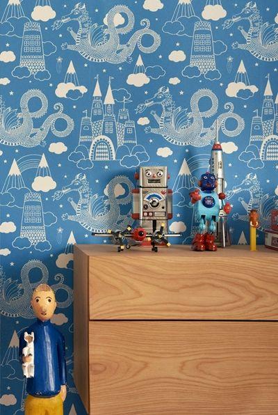 love that wallpaper!