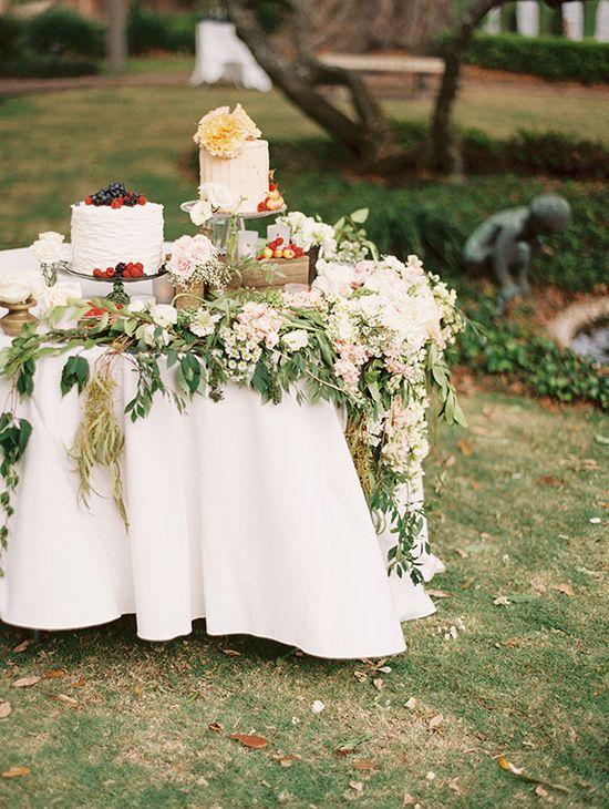 Romantic Florida garden wedding