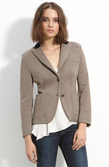 rag & bone merino wool knit jacket