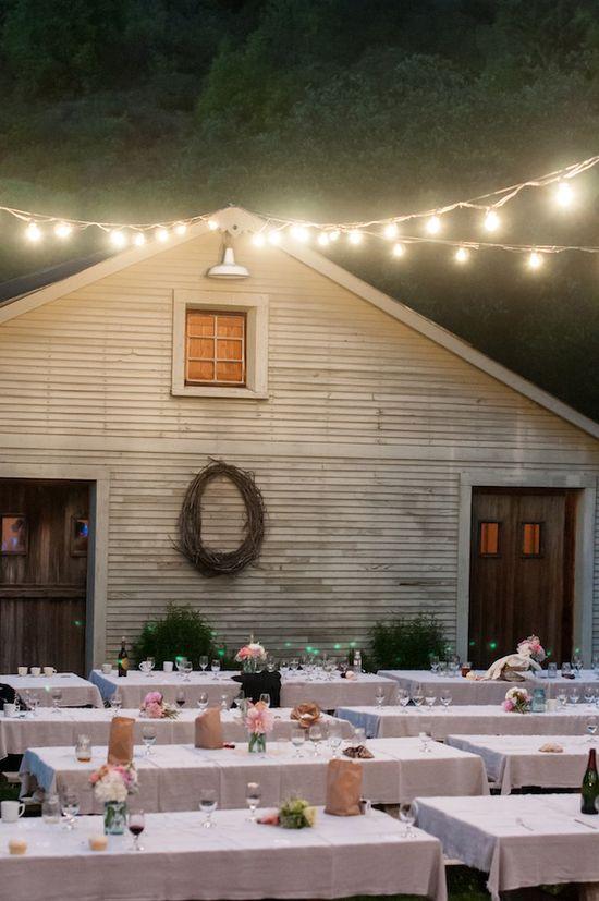outdoor lighting www.weddingchicks...