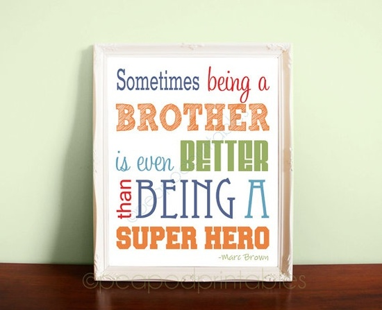 Posters for boys bedrooms- so cute for when they share a room someday