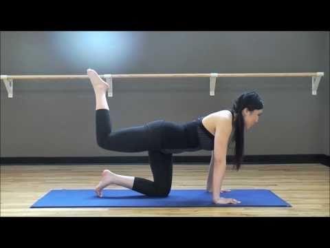 The butt workout.