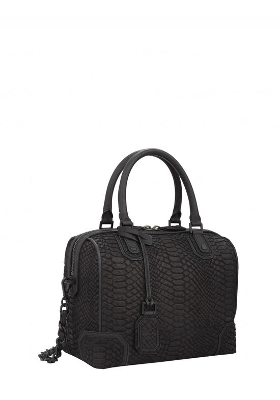 Have you met our Black Drapey Snake Olivia Bag? It's our new go-to!!!