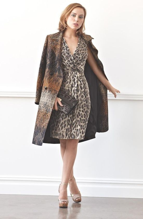 How the Glamourai wore it: Missoni Coat & L'AGENCE Dress