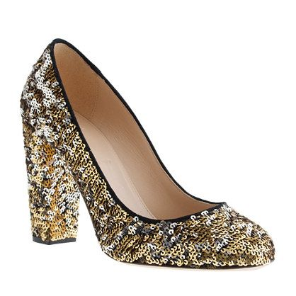 The Etta pump from J.Crew will have you prepared for wherever NYE takes you!