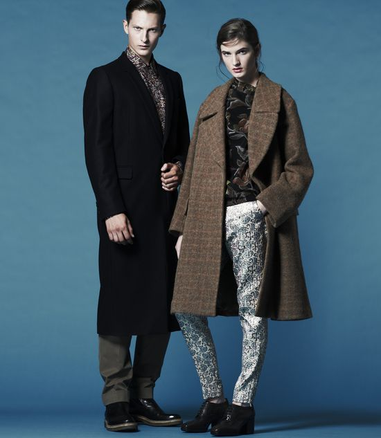 Dries Van Noten: The Fall 2013 collection, online for the first time- only at Barneys New York.