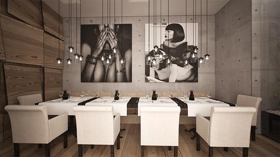 ???? — INK restaurant — Interior design