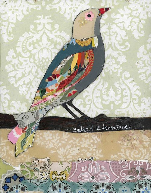 seeker of all things true  by kelly rae roberts, via Flickr