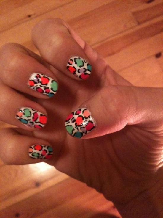 Are your nails more styled than your outfit? We're liking nail art today!