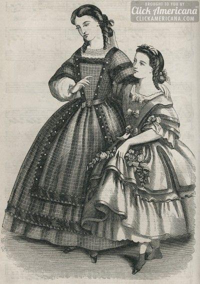 Short hair for ladies? 1862