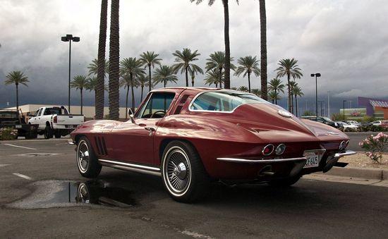 Corvette (vintage, of course)