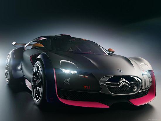 Citroen Survolt concept electric sports car }-> repinned by www.BlickeDeeler.de
