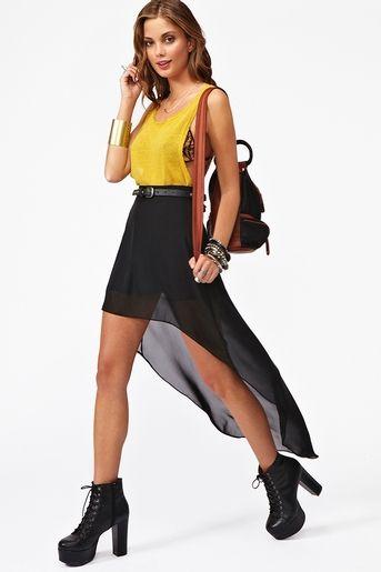Get Down Skirt in Black