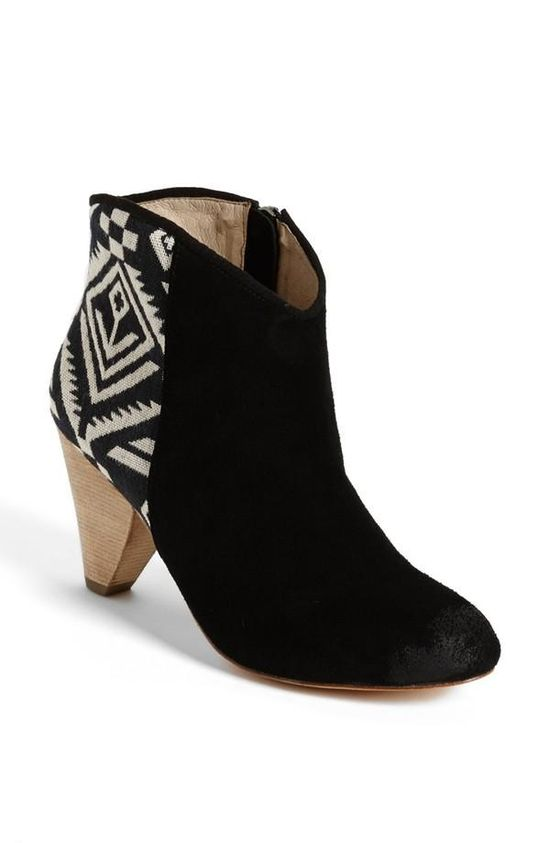 This fall is all about fun booties!
