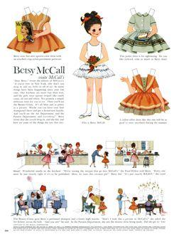 vintage paper doll patterns