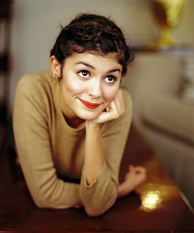 Audrey Tautou- loved her in Amélie.