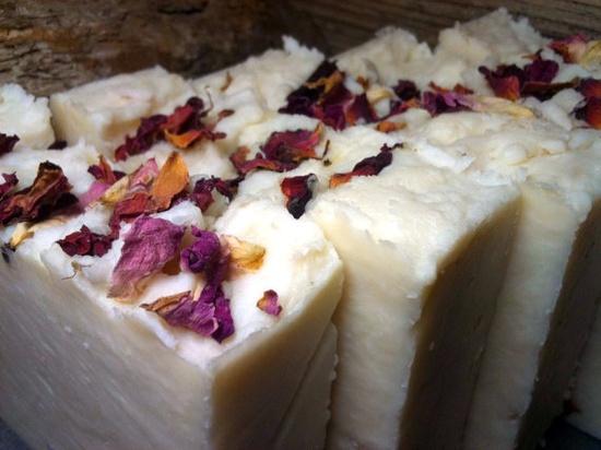 Handmade Rose Castile Soap