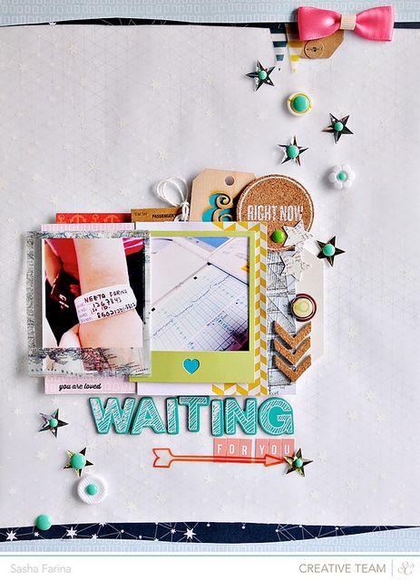 Waiting For You - by Sasha Farina