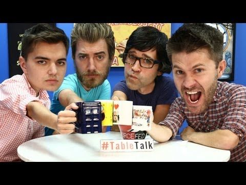 Snap Your Fingers at a Ghost and Have Some Deep Fried Dodo on #TableTalk! - YouTube w/Rhett and Link