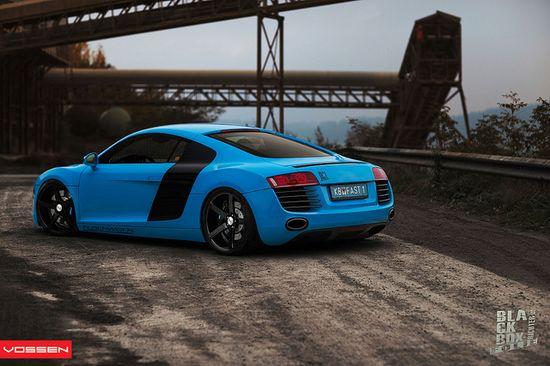 Audi R8 - VVSCV3 by VossenWheels, via Flickr