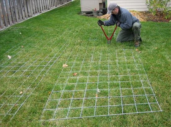 This guy builds a simple, inexpensive green house with step by step pictures. I'm thinking the cattle fencing could be arched as shown, to make a screened enclosure to keep bugs out.