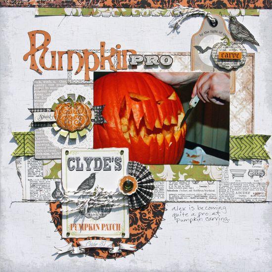 Pumpkin Pro *Echo Park Chillingsworth Manor* - Scrapbook.com