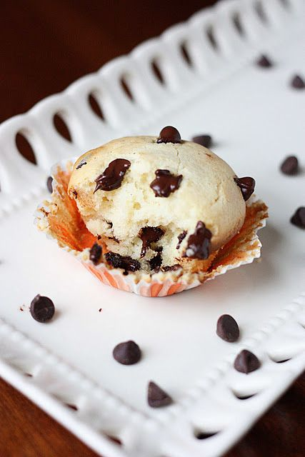 Sour Cream Chocolate Chip cupcakes