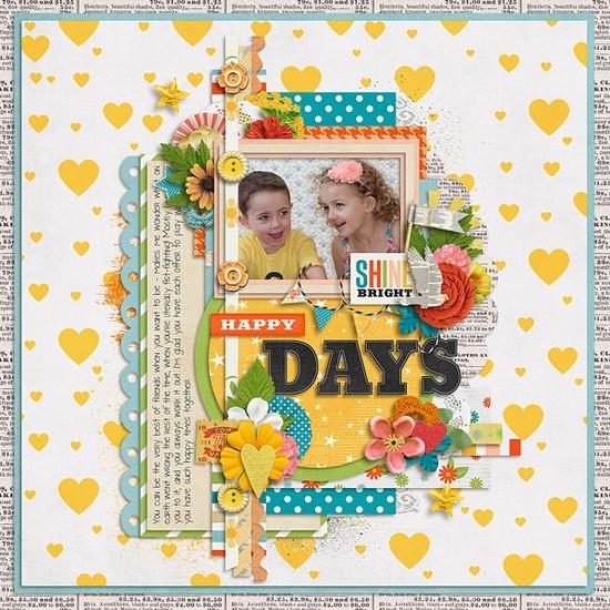 Happy Days - Scrapbook.com