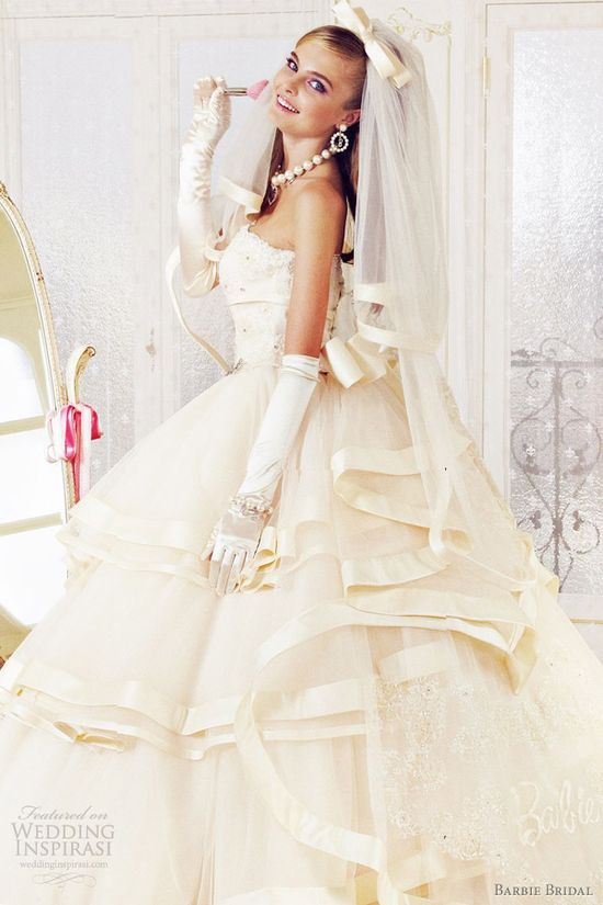 Barbie Bridal wedding dresses 2012