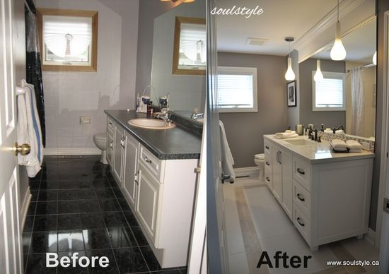 Before & After bathroom (HoH137)