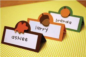 thanksgiving place cards by Pebbles in my Pocket