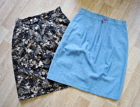 diy skirt / sewing / couture/ jupe / www.funkysunday.com/