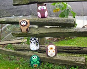 5 Woodland Forest Stuffed Animal Hand Sewing PATTERNS