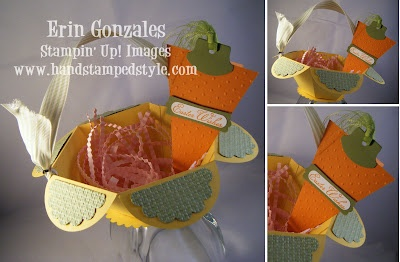 basket made with petal cone die