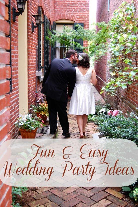 Fun & Easy #Wedding Party Ideas #targetwedding