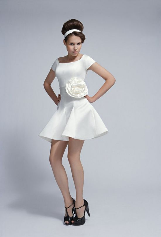 short wedding dress ... reception?