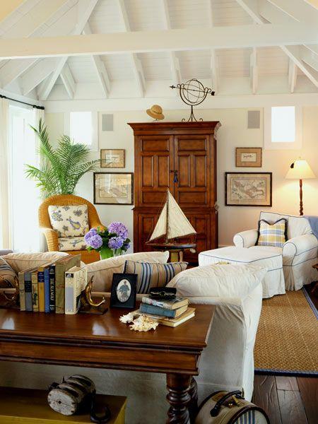Coastal Home, Living Room
