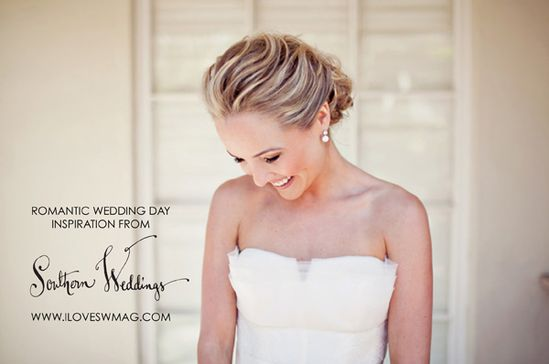 Romantic wedding day look inspiration!