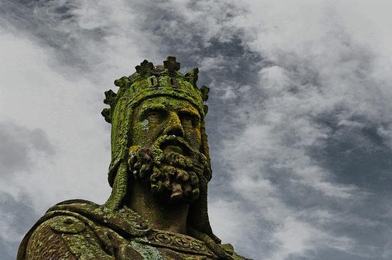 Robert the Bruce    Stirling Castle  Stirling, Stirlingshire, Scotland, UK