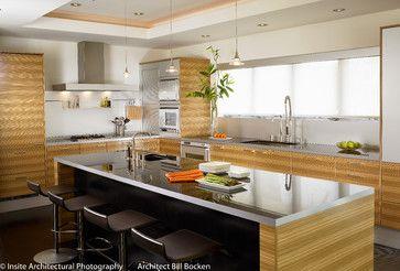 Coronado Home - contemporary - kitchen - san diego - bill bocken architecture & interior design