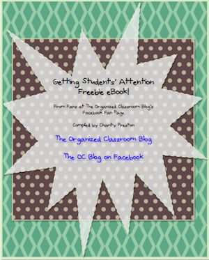 Does Screaming At Your Class Work? - The Organized Classroom Blog  Free eBook with some ideas!  www.theorganizedc...