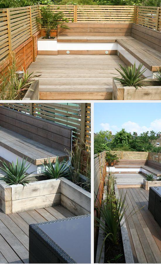 I really want to do something like this! Studio Satta // London Garden Designers