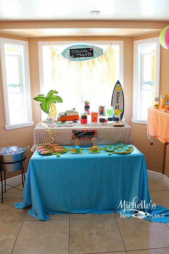 Hello Summer Surf Party via Kara's Party Ideas