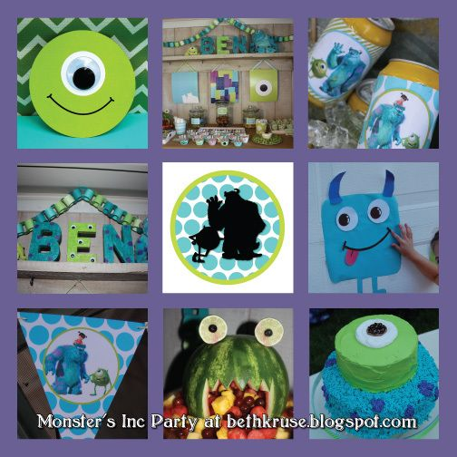"""Photo 1 of 25: monsters inc / Birthday """"we scare because we care!"""""""